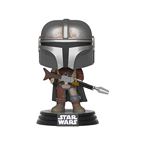 Funko Pop Bobble Vinyle: Star Wars The Mandalorian Figura Coleccionable, Multicolor, Talla Única (42062)