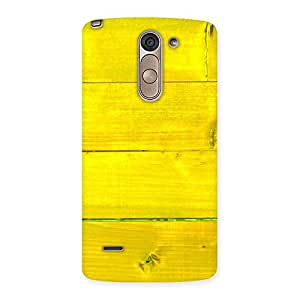 Delighted Yellow Backyard Back Case Cover for LG G3 Stylus