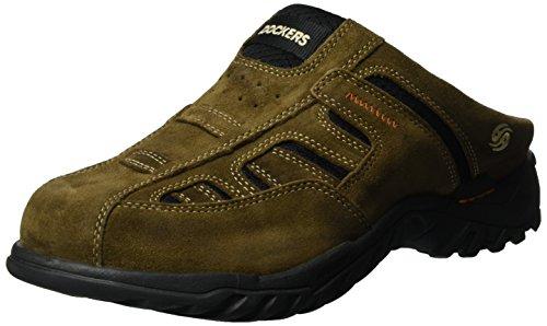 dockers-by-gerli-herren-36li005-200-clogs-braun-khaki-850-46-eu