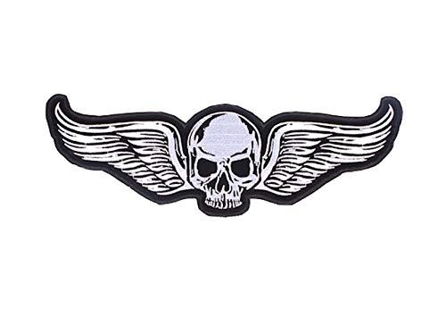 Patch Skull mit Flügel @ KUSTOM FACTORY