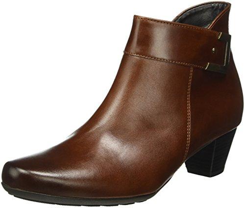 Gabor Shoes 52.824 Damen Kurzschaft Stiefel, Braun (sattel/EF (micro) 93), 38 EU (5 Damen UK) (Heels Sattel-schuh)