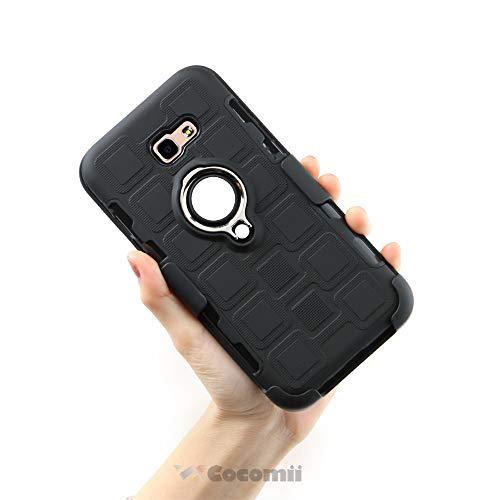 Cocomii Thor Armor Galaxy A5 2017 Hülle NEU [Strapazierfähig] 5-in-1 Gürtelclip Ringgriff Ständer [Funktioniert Mit Magnetischer Autohalterung] Case for Samsung Galaxy A5 2017 (Th.Black)