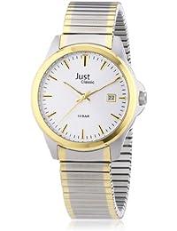 Just Watches Herren-Armbanduhr XL Analog Edelstahl 48-S2307B-SL