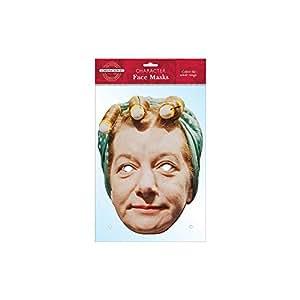 Hilda Ogden Character Face Card Mask