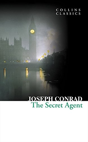 Book cover for The Secret Agent
