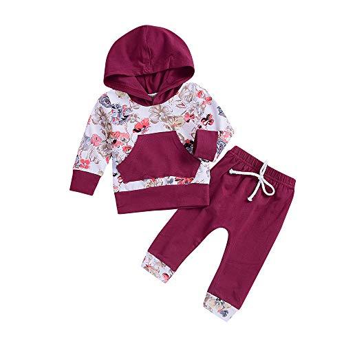 Shopaholic0709 Neugeborenes Baby Langärmelige,Baby Junge Mädchen (0M-24M) Baby -