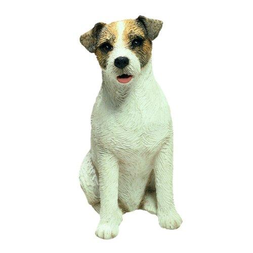 Sandicast Jack Russell Terrier Figur sitzend (Russell Figur Terrier Jack)