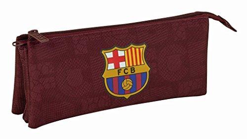 Safta Estuche Escolar F.C. Barcelona 3ª Equip 17/18 Oficial 220x30x100mm