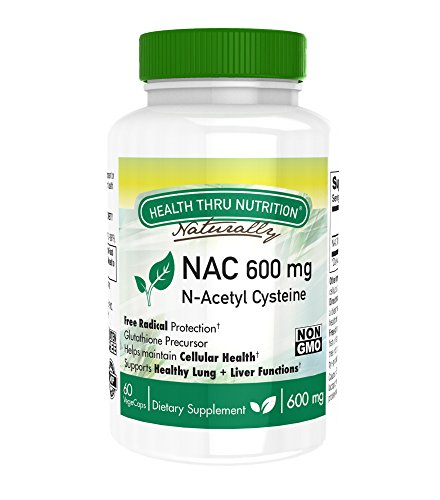 Health Thru Nutrition n-acetyl cysteine 60 Vegecaps non-gmo