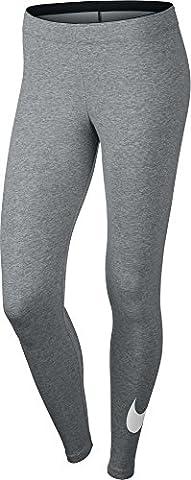 Nike Damen Oberbekleidung Club Logo Leggings, , grau,XS ,815997-063