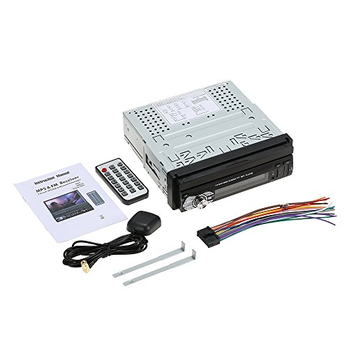 Radio para coche, estéreo, MP5, GPS, navegador, FM, USB, pantalla de 7