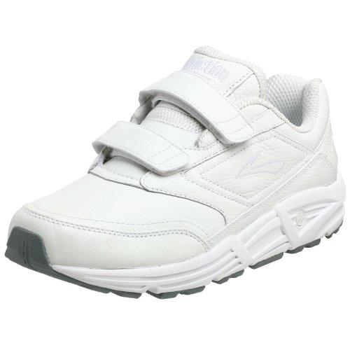 Brooks Addiction Walker V-Strap Scarpe da Nordic Walking Uomo, Bianco (White 111) 44 EU