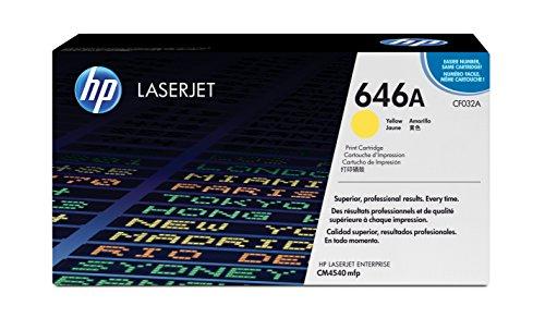 Preisvergleich Produktbild HP 646A (CF032A) Gelb Original Toner für HP Color Laserjet Enterprise CM4540