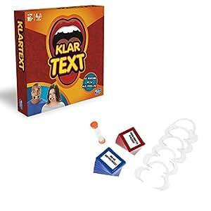 Hasbro Spiele C2018100 – Klartext, Partyspiel