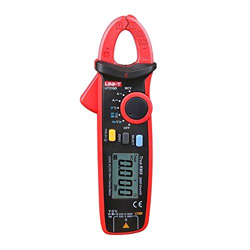 UNI-T UT210D Multimètre numérique à pince CA/CC mesure du courant tension résistance capacitance
