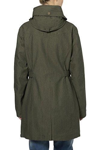 Vaude Belco Veste coupe-pluie 3 en 1 Femme vert sapin
