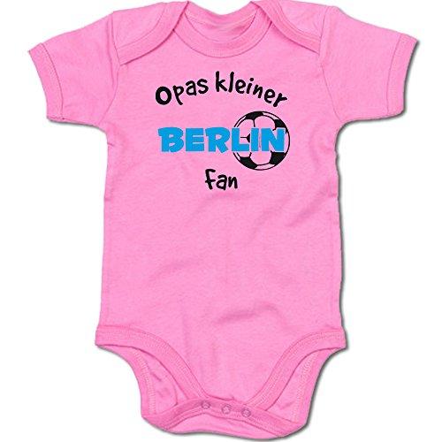 G-graphics Opas Kleiner Berlin Fan Baby Body Suit Strampler 250.0298 (6-12 Monate, pink)