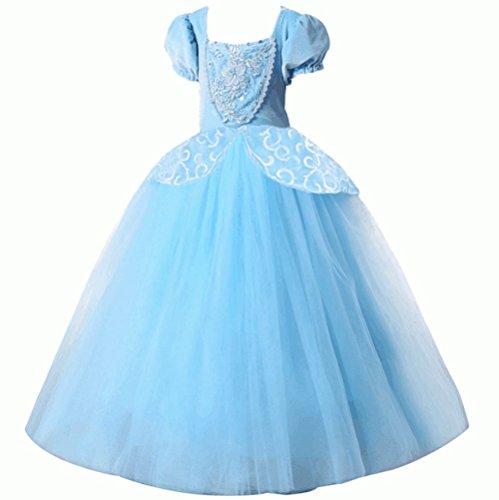 essin Party Kleider Prom Deluxe-Kostüm, Blau, blau (3 Passende Girl Kostüme)