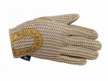 Mountain Horse Handschuh Crochet Glove, Sand, M
