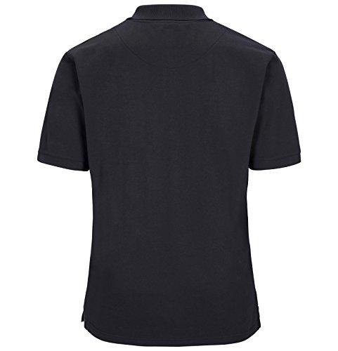 JAN VANDERSTORM Herren Poloshirt ILMARI in Übergröße | Große Größen | Plus Size | Big Size | XL XXL XXXL 4XL 5XL 6XL 7XL 8XL 9XL 10XL Dunkelblau