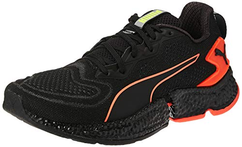 PUMA Speed Orbiter, Zapatillas de Running para Hombre, Black-Nrgy Red-Yellow Alert, 40 EU