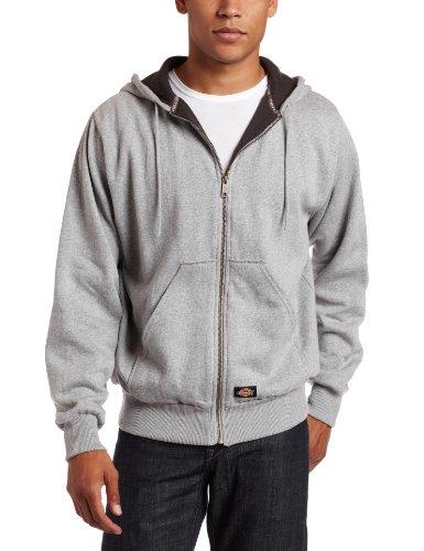 Dickies - - Tw382 thermique doublée Veste à capuche en molleton Ash Grey