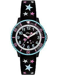 s.Oliver Time Mädchen-Armbanduhr SO-3406-PQ