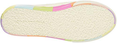 Superga Damen 2790-Cotmultifoxingw Sneaker Multicolore (White Multicolor)
