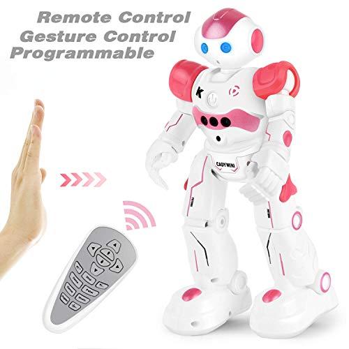 rter Roboter, Intelligenter Fernbedienungsroboter mit dem Handgestenbefehl, Gehen Singen Tanzen für Kinder Jungen Alter 4/5/6/7/8 ()