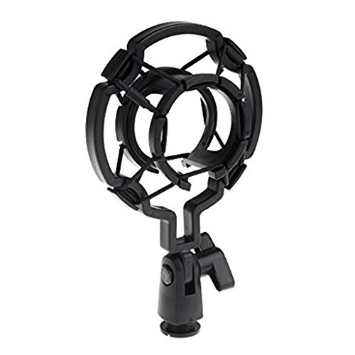 Generic Universal Microphone Shock Mount Cradle Holder Clip Stand Mic-57000479MG