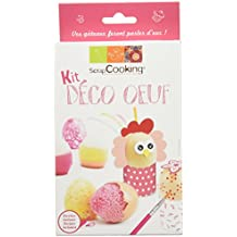Scrapcooking Kit Déco Œuf 110 g - Lot de 6