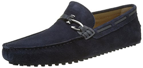 Roxbury Loafers, Blue (Navy Suede