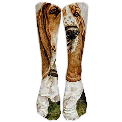 ound Fashion Stylish Knee High Socks for Women and Men-Fitness Novelty Crew Athletic Socks Comfortable Knee High Sock ()