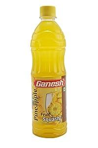 Ganesh Fruit Squash, Pineapple, 700ml