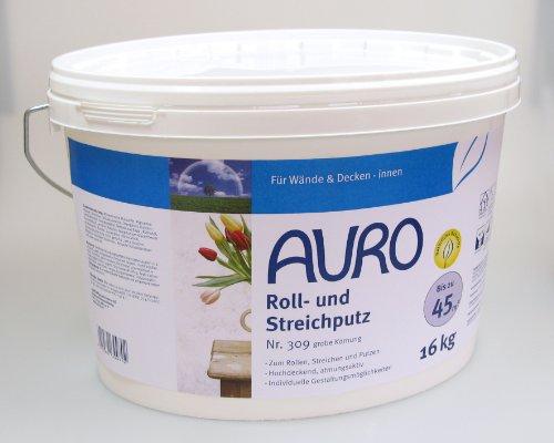 AURO Roll- und Streichputz grobe Körnung 309 - 16 kg