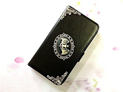 Fledermaus Handy Leder Brieftasche Fall Handgemachte Handy Brieftasche Abdeckung für Iphone X Xs Xr Xs Max 6 6s 7 8 Plus Samsung S9 S8 Plus Note 8 Note 9 Case Cover Mn0061 -