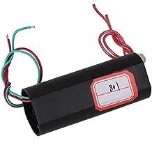 BQLZR negro DC 3V-6V a 700KV 700000V Boost Step-up módulo de potencia alta tensión pulso generador de bobina de encendido