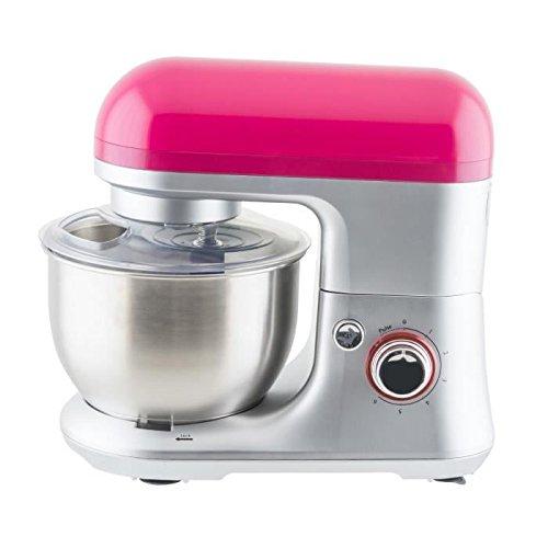 Winkel RX60 - Robot de cocina multifunción, batidora amasadora, 650 W, color rosa