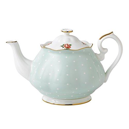 Royal Albert Polka Rose Vintage Teekanne 1,25 l Royal Albert Bone China