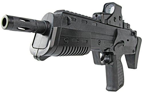 Nick and Ben Softair Kugel Softair-Gewehr MP-V52242 6 mm ABS schwarz Schüttmagazin ca. 38cm Federdruck unter 0,5 Joule ab 14 J. (Bb-gewehr M 16)
