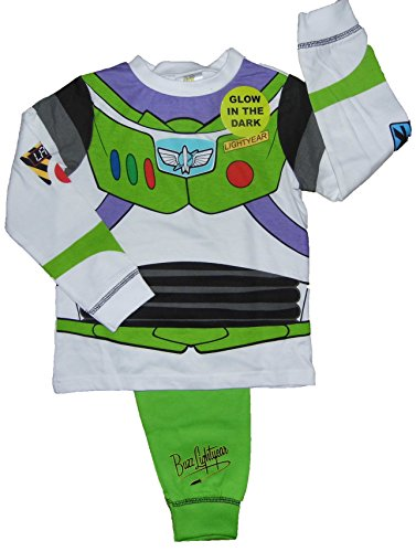 Niños Toy Story Buzz Lightyear o Woody Vestir Pijamas 18-24m 2-3y