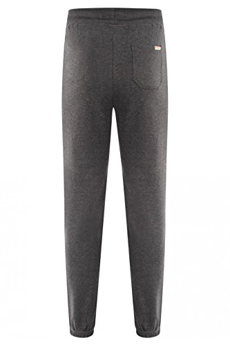 Hommes Jogging Tokyo Laundry Port Hardy Taille Élastique Coupe Slim Skinny Bas Charcoal Marl