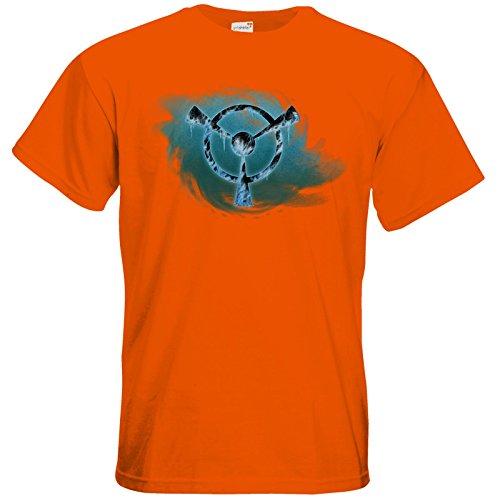 getshirts - Das Schwarze Auge - T-Shirt - Götter und Dämonen - Namenloser Frost Orange