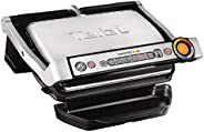 Tefal Contact 2000W Stainless Steel OptiGrill, GC712D28, Black, 1 Year Brand Warranty