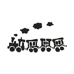 Pochoir XXL 103 cm Train - Rayher