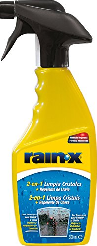 RainX 2en1 - Limpiacristales + Anti-Lluvia 500 ml