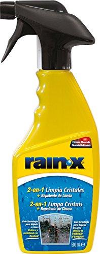 Rain-X 1830048 88197500 2-in-1-Detergente e Repellente per pioggia, in vetro, 500 ml