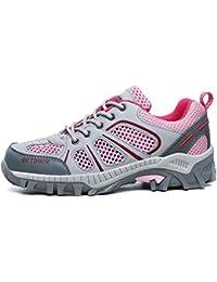 Unisex Zapatillas de Verano de Malla de luz Transpirable para Hombres Casuales Adultos Caminar Calzado Parejas