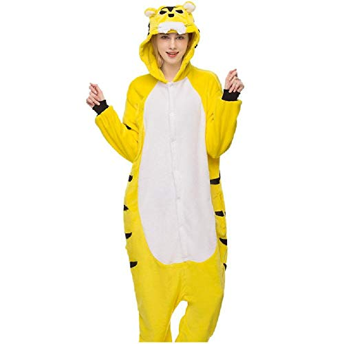 Cartoon Onesies Pyjamas Paar Overall Tier Pyjama-Halloween-Kostüm-Pyjamas Cosplay Adult Damen One Piece (Shepherd Adult Kostüm)