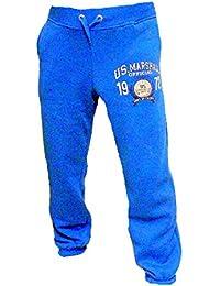 Original US-Marshall US Marshall Trainingshose Herren & Damen Jogginghose Sporthose Fleecepant Fitness Hose von Tisey®